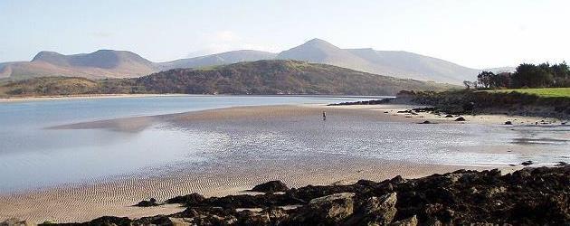 La plage à Brandon Dingle